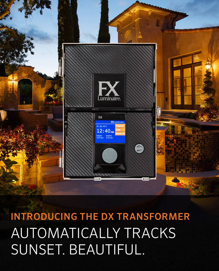 Introducing the DX Transformer. Automatically tracks sunset. Beautiful.