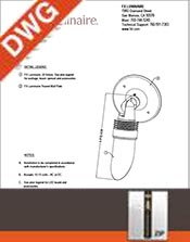 JB Round Wall Plate Mount Details