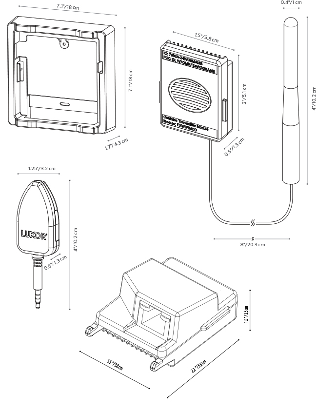 FX Luminaire Luxor ZDC Lighting Controller Sierra Irrigation
