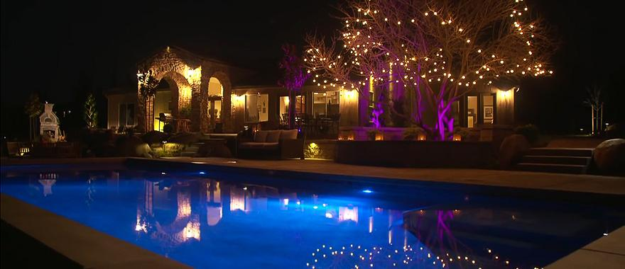 Superb Fx Outdoor Lighting Part - 8: Luxor ZDC® Transforms The Outdoor Living Space For A California Couple