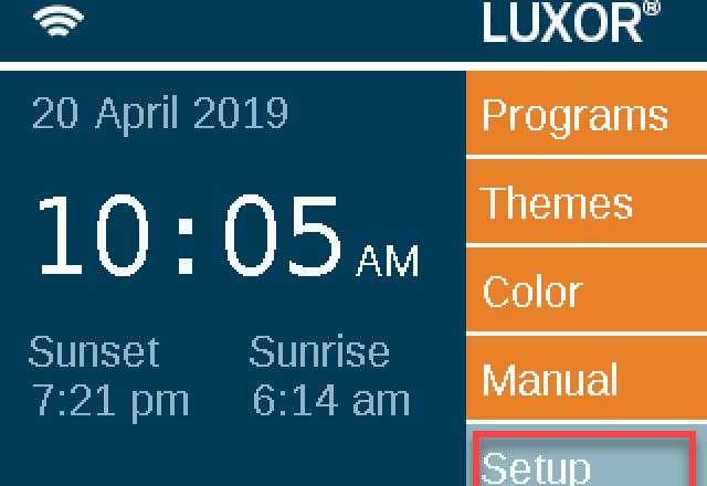 Luxor Lan Setup Fx Luminaire