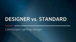 FX Luminaire Designer vs. Standard Series Product Guide