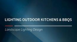 FX Luminaire Training | Lighting Outdoor Kitchens & BBQs
