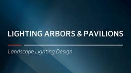 FX Luminaire Training | Lighting Arbors & Pavilions