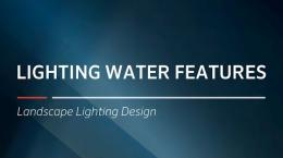 FX Luminaire Training | Lighting Water Features