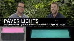 Paver Lights for Outdoor Landscape Lighting