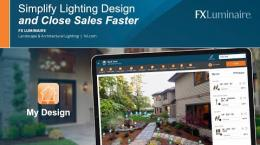 Simplify the Lighting Design Process and Close Sales Faster with My Design